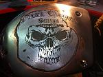 Motorcycle Parts Engraving